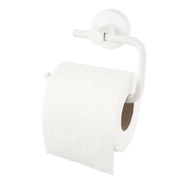 Kosmos toiletrolhouder mat wit